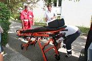 Strakonická nemocnice dostane novou sanitku. Naposledy se tak stalo v roce 2016.