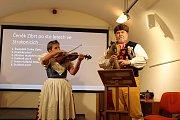 Beseda o Čeňku Zíbrtovi a dudácké muzice se konala ve čtvrtek 15. listopadu ve Strakonicích.
