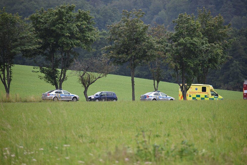 Na silnici mezi Drahonicemi a Dunovicemi se stala vážná dopravní nehoda.