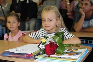 Začátek školního roku na ZŠ Krále Jiřího z Poděbrad Strakonice.