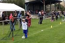 Nejmenší fotbalisté se sjeli do Bavorova