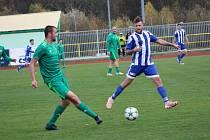 Fotbalová I.A třída: Prachatice - Sousedovice 4:1.