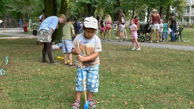 Rennerovy sady jsou také místem konání některých akcí, například dětských dnů.