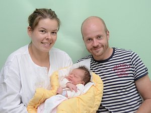 Matylda Alešová, Cehnice, 14.9. 2017 v 8.11 hodin, 4050 g. Dvouletá Michaela má malou sestřičku.