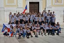 Sbor gymnázia na Istrii