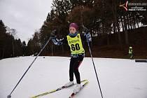 Krajský klasifikační závod lyžařů klasiků se konal na vimperském Vodníku.