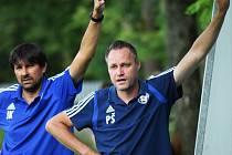 Fotbalisté Katovic prohráli v Rokycanech 3:0. Ilustrační foto.