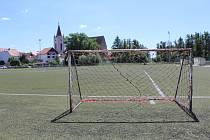 Fotbalové hřiště v Blatné dostane umělku s nejmodernější technologií.