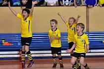 Halový turnaj přípravek vyhrál Junior A.