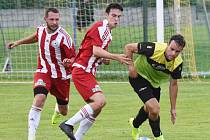 Fotbalový KP: Osek - Blatná 1:2.