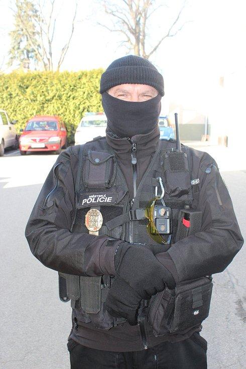 Strážník MP Strakonice Pavel Dub.