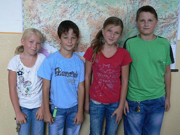 Páťáci Základní školy Dukelská Strakonice.
