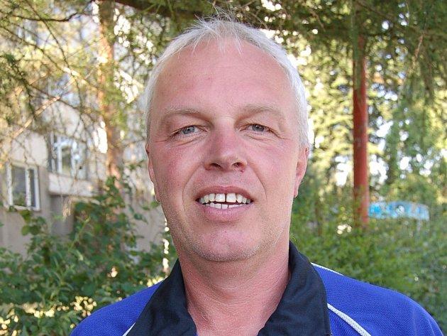 Trenér Milan Janda.