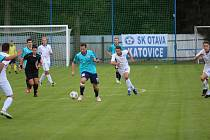 Fotbalová divize: Otava Katovice - Hvězda Cheb 2:0.