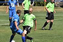 Dalším kolem pokračoval fotbalový okres na Strakonicku.