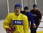 Hokejisté Strakonic už se připravují na ledě.