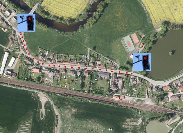 Průjezd obcí Čejetice bude velmi komplikovaný.