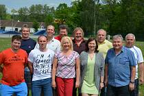 OBRAZEM: Jedenáctičlenný výbor České metané se sešel ve Vodňanech, kde jednohlasně zvolil do vedení pro následující čtyři roky předsedu Václava Pártla.