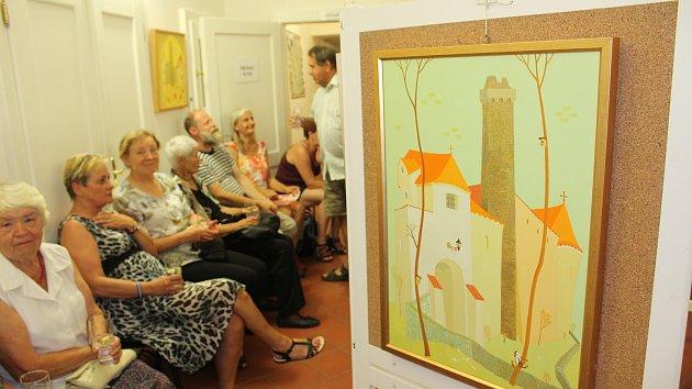 Výstava Dudy v obrazech Valentina Horby