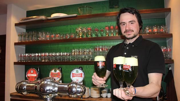 Manažer kvality strakonického pivovaru Vlastimil Matej.