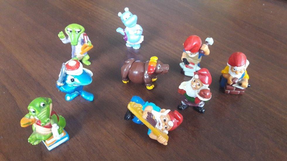 Retro hračky vykouzlí úsměv na tváři nejednoho dospěláka.