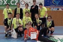 Mladší žáci HBC Strakonice.