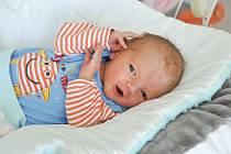 Marek Muchna ze Strakonic. Mareček se narodil 7. 5. 2019 v 7.33 hodin a při narození vážil 2 960 g. Na Marečka se všichni doma moc těšili.