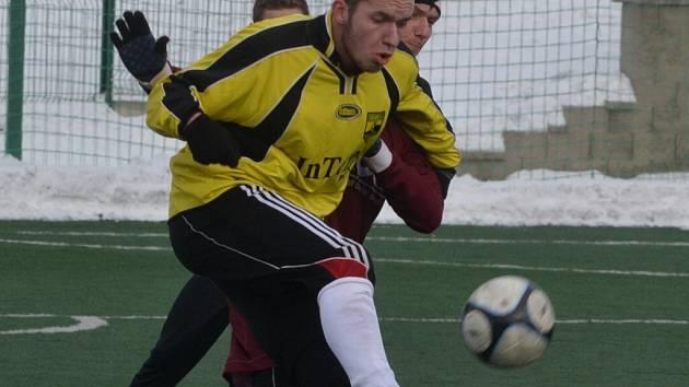 Vladimír Uher dal jeden gól.