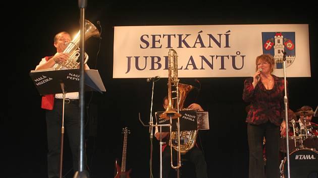 Setkání jubilantů s vedením města Strakonice.