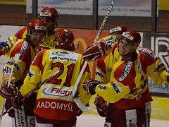 Hokejisté Radomyšle potřetí v řadě zvítězili.