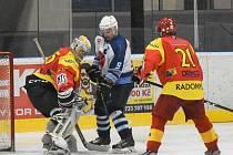 Hokejisté Radomyšle by se rádi co nejdříve vrátili na led.