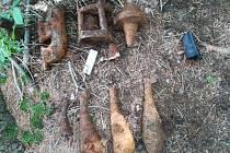 Dívka v lese u Nebřehovic na Strakonicku našla minu.