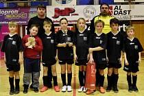 Tým FC Volenice 2013 vyhrál 19. ročník turnaje Ekonomických služeb-BH v kategorii přípravek.