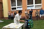 Zahájení školního roku v Záboří 10. září.