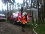 Ve dnech 21. až 23. dubna se uskutečnilo cvičení dobrovolných hasičů na Strakonicku.