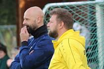 Tomáš Čalrt (vlevo) se přesouvá na post sportovního manažera, první tým povede Luděk Cimrhanzl sám.