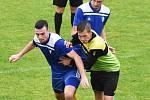 Fotbalová I.B třída: Osek - Čkyně 3:4.