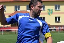 Martin Šácha dal vítězný gól Chelčic.