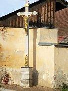Kříž v Malenicích.