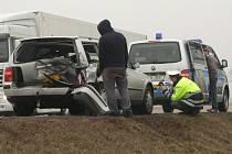 Nehoda u Radčic.