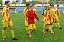 Fotbalová I.A třída: Junior Strakonice - Bavorovice 0:0.