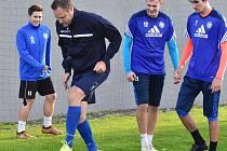 Fotbalisty Katovic povede trenér Přemysl Šroub.