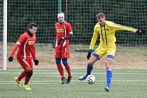 Fotbalová příprava: Osek - Semice 1:3.