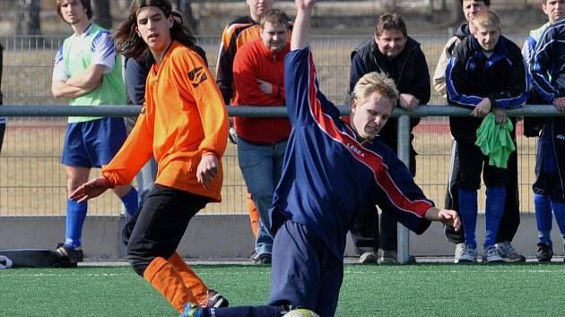 Na zimním turnaji ve Strakonicích se hrály zápasy o konečné umístění.