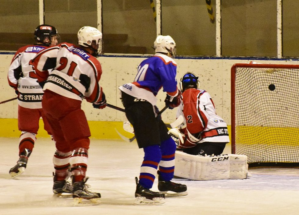 Liga junioři: HC Strakonice - Chotěboř 6:1.
