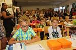 První školní den na ZŠ Dukelská Strakonice