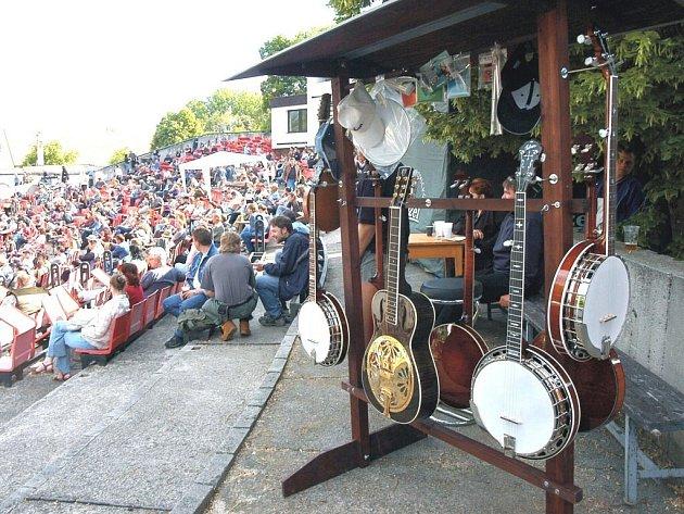 Jamboree je i přehlídka nástrojů.