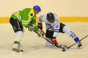 Pokračovaly okresní hokejové soutěže na Strakonicku. Ilustrační foto.