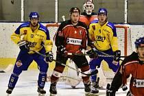 Hokejisté Strakonic v pátém kole krajské ligy zdolali Milevsko 3:1.