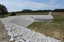 Přechovice - V katastru obce Přechovice u Volyně vyrostla nová protipovodňová ochrana